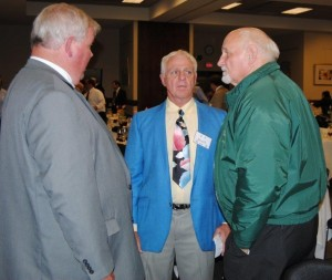 Rader, Smith, and Wells at the 2015 HOF Banquet