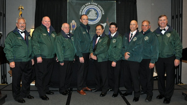 The honorees at the 2017 NWHOF Upstate New York ceremony.
