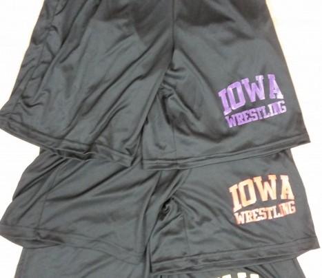 asics wrestling shorts