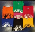 Color Options for Hall of Fame T-shirts