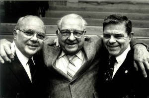 Hugh, Rex, and Ed Peery