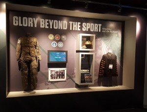 Glory Beyond the Sport for Military post