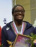 Tamyra Mensah gold medal at Ivan Yarygin Grand Prix