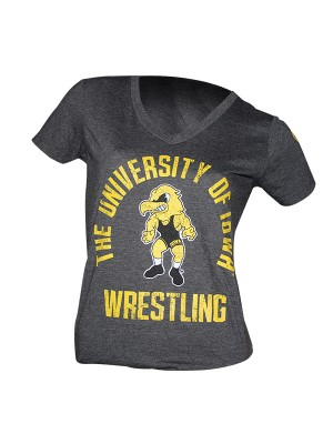 Hawkeye Ladies VNeck Front