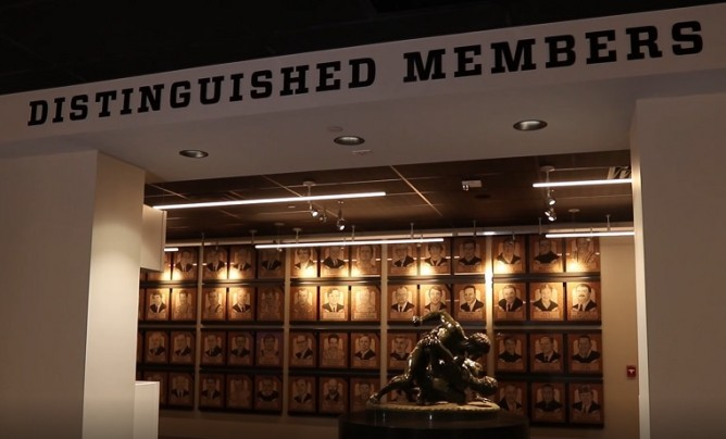 Distinguished Member Gallery from hallway for website