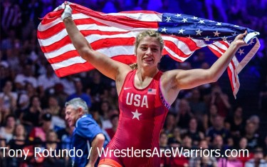 Helen Maroulis at 2017 World Championships
