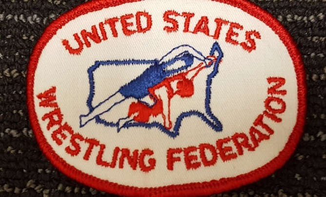 United States Wrestling Federation oval patch