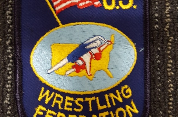 United States Wrestling Federation shield patch
