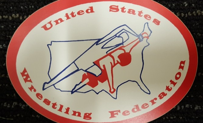 United States Wrestling Federation sticker