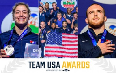 USA Wrestling sweeps USOC Team USA awards for August