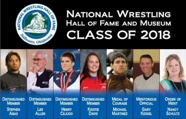 Hall of Fame Announces Class of 2018 | National Wrestling